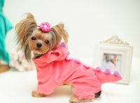 Wholesale Wedding Dress Wholesale Trade - New foreign trade super soft fabric qiu dong dinosaur's pet dog clothes dress size (XS S M L XL) promotional free shipping