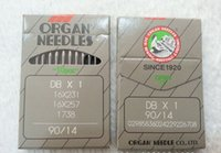 Wholesale Industrial Sewing Machine Needles - 10 pcs DB*1 Japan ORGAN Industrial Sewing Machine Needles JUKI DDL-555 SINGER BROTHER size #14