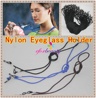 Wholesale Eyeglasses Neck Straps - Eyeglass Holder Cord Sunglass Glasses Eyewear Neck Strap Nylon New Hot Sale More Colors To Choose 50pcs