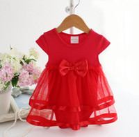 Wholesale Infant Brand Wear - Baby One Piece Romper Infant Wear Children Clothes Kids Clothing Summer Jumpsuit Rompers Girl Dress Baby Romper