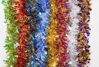 mini halloween süslemeleri toptan satış-Sıcak ! 10 adet 2 m Festivaller Dekorasyon GARLAND Noel Cadılar Bayramı Tinsel Renk Bar Karışık Renk
