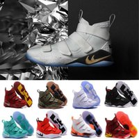 Wholesale Arm Basketball - 2018 New Men Special Limited Edition James Soldiers 11 Men's Basketball Shoes for White Man-at-arms XI Sports Court General Sneakers 7-12
