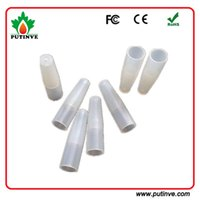 Wholesale Disposable Testing Drip Tips Cover - Disposable drip tips cover to e liquids flavors testing e cigarette testing silicone mouth piece