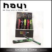 Wholesale Hookah Pen Packaging - Disposable E Hookah 500 Puffs Electronic Cigarette Soft Beautiful tips Shisha Pen e-shisha et108 with retail package for Xmas