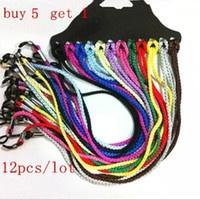 Wholesale Wholesale Chain Buy - Wholesale-12pcs lot Eyeglasses Eyewear Sunglasses Reading Glasses Cords Holder Chain String free shipping Buy 5 lot send 1 lot multicolor
