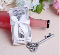 şık şişe açacağı toptan satış-Benim Kalp Şişe Açacağı Toptan-Beyaz Kalp kutu Açacağı 50 ADET / GRUP Düğün favor-