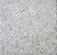 Wholesale Pearl White Tile - Hot Shell mosaic mother of pearl tile backsplash Arch shaped shell tiles white mother of pearl tiles bathroom mosaic tile