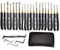 Wholesale House Locksmiths - Hot Locksmith tool Goso 20 pcs Lock Pick Tools, House Lock Pick Tool Freeshipping