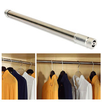 Wholesale Curtain Rods Tracks Accessories - Adjustable Tension Rod Door Curtain Stainless Bathroom Shower Closet Retractable order<$18no track