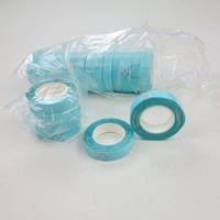mavi renk saç uzatmaları toptan satış-Bant Çift Taraflı Yapıştırıcı Bant 1 cm * 3 m PU Cilt Atkı Bant Saç Saç Uzatma araçları için Mavi renk