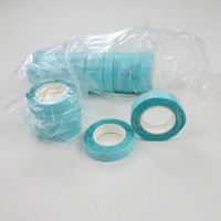 Wholesale hair adhesives - Tape Double Sided Adhesive Tape 1cm*3m for PU Skin Weft Tape Hair Hair Extension tools Blue color