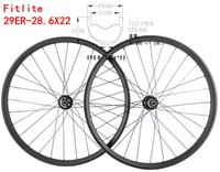 Wholesale Mountain Bike 29er Wheels - MTB 29er Carbon Wheels XC Race UD matte 29inch Mountain Bike Carbon Wheels 28.6X22mm