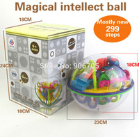 Wholesale Game Steps - 299 Steps 3d Magic Maze Ball Perplexus Magical Intellect Ball Educational Toys Marble Puzzle Game Perplexus Balls Iq Balance Toy