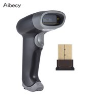 Wholesale Internal Screens - Wholesale- Wireless 1D Barcode Scanner Bluetooth Screen Bar Code Reader Auto Scanning CCD Red Light 2000dpi 260t s Internal Storage 2500