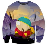 Felpe Uomo / Donna South Park bella stampa 3D casual Felpa Pullover innovativo design UK302