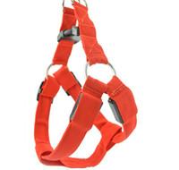 Wholesale Lighted Rope Dog Leash - New LED Dog Collar Peppy Dog Led Flashing Light Harness Collar Pet Safety Led Leash Rope Belt Wholesales GL