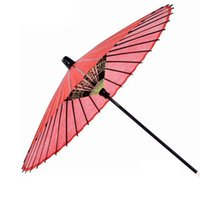Wholesale advertising arts - 36ribs natural bamboo&wooden performance dancing art oilpaper antique wedding advertising gift prop umbrella Free Shipping ZA5171