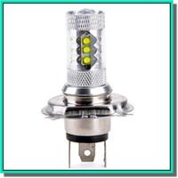 Wholesale Lamp Led H16 - New arrival car led fog bulb led light car foglight lens hb4 led car lamp bulbs DC12-24V 80W White 6500K Free shipping