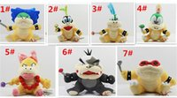 Cartoon Super Mario giocattoli di peluche Wendy / Larry / Lemmy / Ludwing / O. Koopa peluche Sanei 8