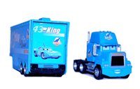 Wholesale New style Cars Mack Chick hauler Thai Pixar Car Lightning Hick Truck Toy car Kid color bk014C