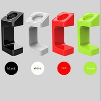 Wholesale Hold Watches - Lazy Bracket E7 charging hold stand Holder Mount for Apple watch plastic Stand charger dock Holder
