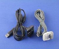 xbox kontrolörü kurşun toptan satış-USB Şarj Hızlı Şarj Kablosu kablosu Kurşun Kiti Microsoft Için Xbox 360 Kablosuz Denetleyici Konsolu Pil