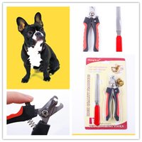Máquinas De Cortar Para Mascotas Baratos-Pet Nail Clippers Pet Clippers de uñas de acero inoxidable Pet Smart Model Nail Scissors Archivo separado para la entrega CYF71