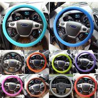 Wholesale Nissan Qashqai Cover - Skidproof Eco Friendly Soft Silicone Steering Wheel Cover Shell For Nissan Teana X-Trail Qashqai Livina Tiida Sunny March Murano Juke