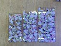 Wholesale Super Cute Iphone Cases - Super Cute With Our All Over Print Unicorn Cat Case Liquid Glitter Fluorescent Quicksand Funda Case for Iphone 5 5S 6 6s 6Plus