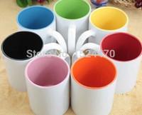 Wholesale Mug Sublimation 11oz - 11OZ blank sublimation heat transfer printable Mug