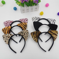 Wholesale Hair Accessories Combs Bands - Cat Ears Headband hair band hair sticks Children Girls Headdress Headwear hair accessories party cosplay props supply cat