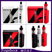 Wholesale kanger mini starter for sale - Group buy Kanger Topbox Mini Starter Kit With W TC Mod ML Toptank Mini Kanger Subox Mini Starter Kit