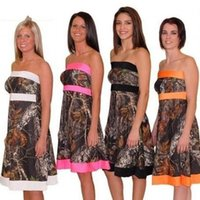 orange trees pictures - Custom Made Real Tree Camouflage Camo Bridesmaid Dresses Vestido de Madrinha Cheap A Line Wedding Party Gowns Bride Maid of Honor Dress