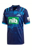 2018 Blues Super Rugby Home Jersey New Zealand Super Rugby Union blues Camicie per trasferimento di calore ad alte temperature taglia S-5XL SYDNEY ROOSTERS