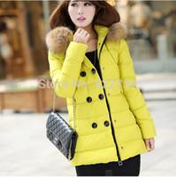 Wholesale Snowimage Down Coats - Wholesale-Plus size xxxl xxxxl 5xl 6xl 2015 winter women long white duck down jacket coat,for ladies snowimage double-breasted snow parka