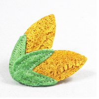 Wholesale Toy Corn - 100% Natural Non-Toxic Loofah Toy Pet Dog toys Molar Tooth Cleaning Dog Toys Corn Shape Free Shipping