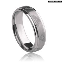 Wholesale Wholesale Tungsten Wedding Bands Usa - Wholesale Cheap Price Jewelry USA Hot Sales 6 8mm Men&Women's Classic Silver Bevel Zelda Ring New Tungsten Wedding Ring free shipping