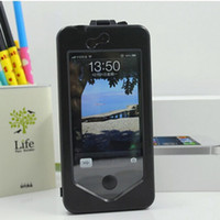 Wholesale iphone 5s bike case - Hot New Bicycle Bike MTB Waterproof Phone Case Bag Pouch Holder for iPhone S