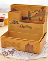 oz organizer - little prince OZ Alice storage organizer box vintage DIY desktop pen box illustrator collection holder stationery A5