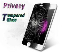 Wholesale Lg G2 Skin - 180 Degree Privacy Tempered Glass Screen Protector Film Guard For Samsung Galaxy S7 A310 A510 A710 2016 A3 A5 A7 LG G2 G3 G4 G5 Skin Package