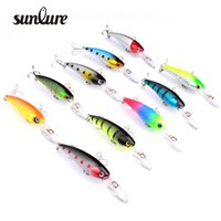 Wholesale New Sunlure Style Fishing Lures colors cm g fishing bait with hook fishing tackle