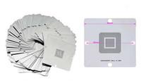 Wholesale Bga Stencils Reballing Notebook - Free Shipping! 90mm x 90mm BGA reballing Stencils templates 362 pcs for Notebook, desktop, game consoles