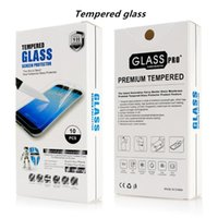 Wholesale Zte Avid Screen Protector - Tempered Glass Screen Protector For ZTE Tempo X N9137 Avid 4 Metropcs ZTE Blade Force ZTE Warp 8 N9517 With Retail packaging D