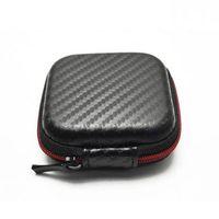 Wholesale Earbud Cases - Wholesale- Portable Cable Earphone Headphone Bag Carry Storage Box Earbud Hard Case Convenient Travel