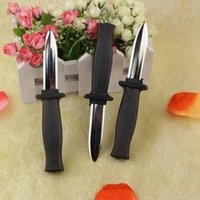 Wholesale Toy Bayonet - Wholesale-Those trick toys contraction knife Moving the telescopic bayonet Fake sword prank toys