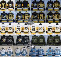 Wholesale Hockey Jerseys Pittsburgh - Pittsburgh Penguins Jerseys 87 Sidney Crosby 58 Kris Letang 71 Evgeni Malkin 81 Phil Kessel Mario Lemieux Olli Maatta Matt Murray Hockey