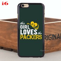 Wholesale Galaxy S4 Active Hard Case - Wholesale-Love Packers Dark Green Hard Case for iPhone 6 6plus 4s 5s 5C and Case for Samsung Galaxy Note3 Note4 S4 S4 mini S4 Active S5 S6