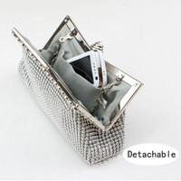 Wholesale Stripe Phone Shell - Fashion Wedding Bag Imitation Beaded Clutch Evening Bags Woman's Party Handbags Day Clutches Purse Bridal Bag