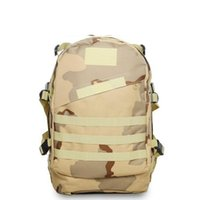 Wholesale Tactical Mountaineering Packs - Backpack 3D Camouflage Mountaineering Backpack Army Fans Tactical Backpack Multifunction Men And Women Outdoor Sports Waterproof Hiking Pack