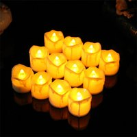 Wholesale Decorative Wax Candles - LED Light Bougie Holiday Party Decorative Electronic Candle For Creative Arts And Crafts Decor Gifts 1 7rx C R